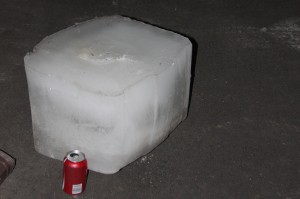 Giant Ice Block