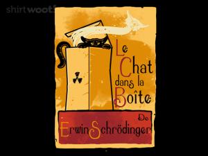 Woot Shirt, Le Chat dans la Boite