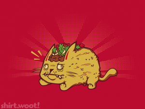 Woot Shirt, Taco Cat