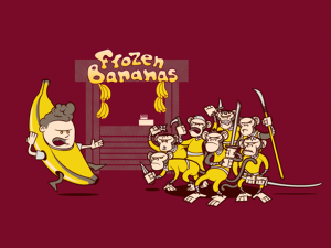 Woot Shirt, Trouble At the Banana Stand